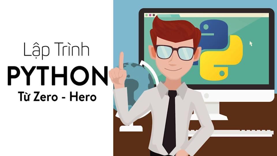 Kết quả hình ảnh cho Khóa học Python từ Zero to Hero